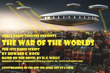 Arkle Theatre Company present The War of the Worlds, 1938 Radio Script